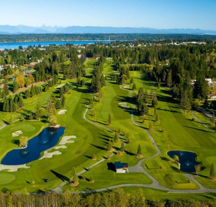 Campbell River Golf & Country Club, Vancouver Island - Photo by Golf Vancouver Island