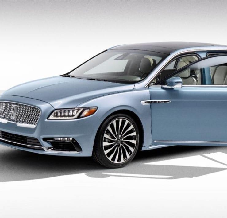 2020 Lincoln Continental Coach Door Edition