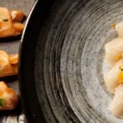 Hamachi & Salmon Rosettes