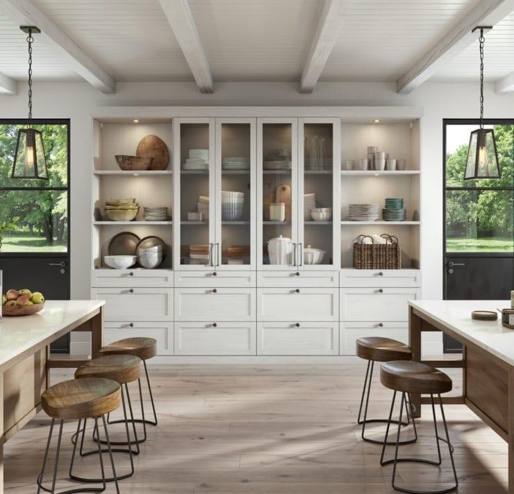 California Closets Modern Farmhouse Pantry