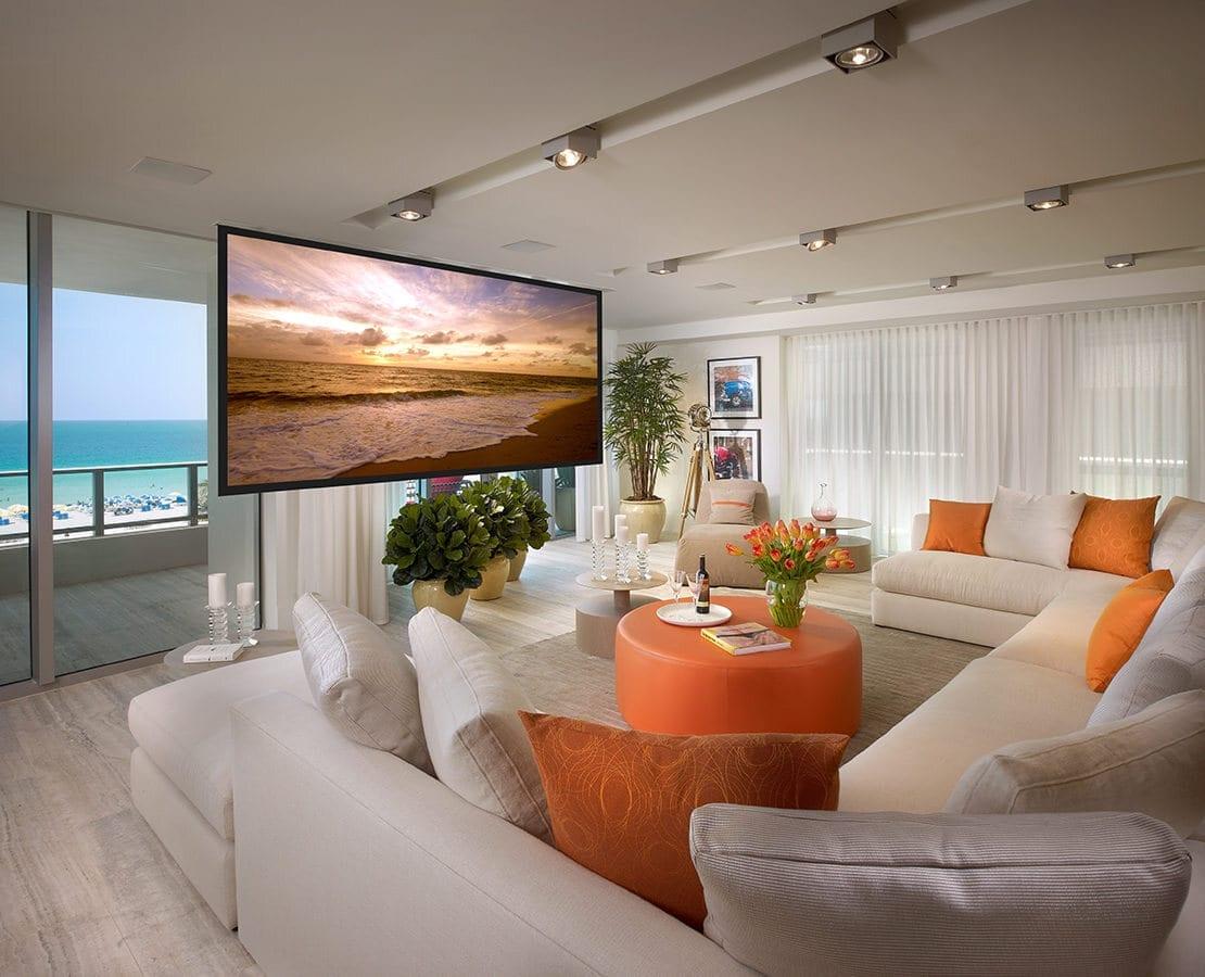 OceanHouse living screen