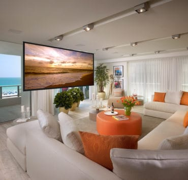 OceanHouse living screen