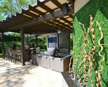 Outdoor design by The Patio District, Luxapatio and Zensa Design