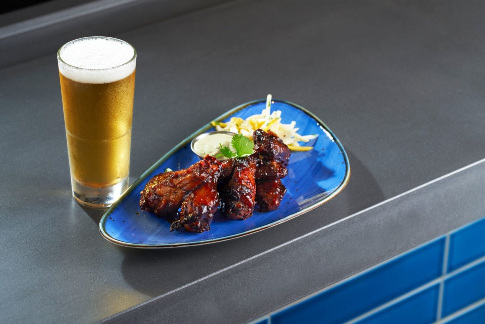 Steelpan's Caribbean Jerk Wings