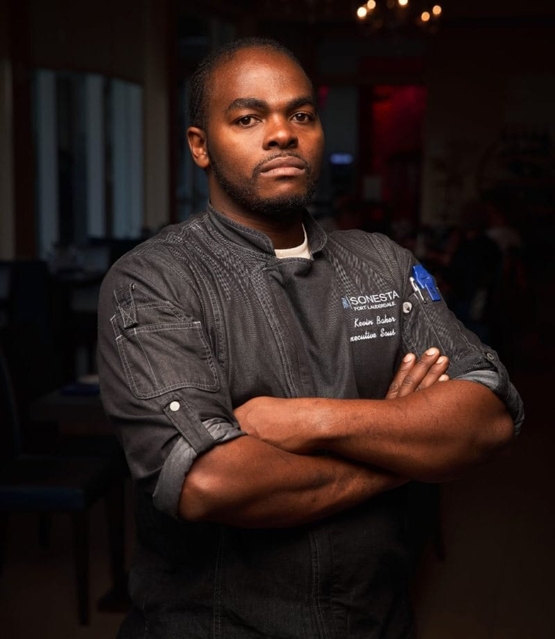 Steelpans Chef Kevin Baker
