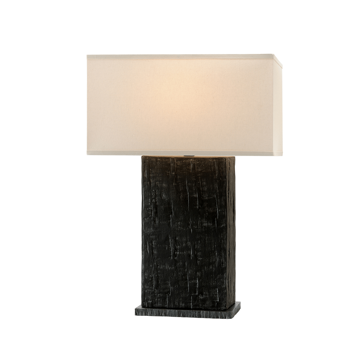 Troy Lighting La Brea Table Lamp in Anthracite
