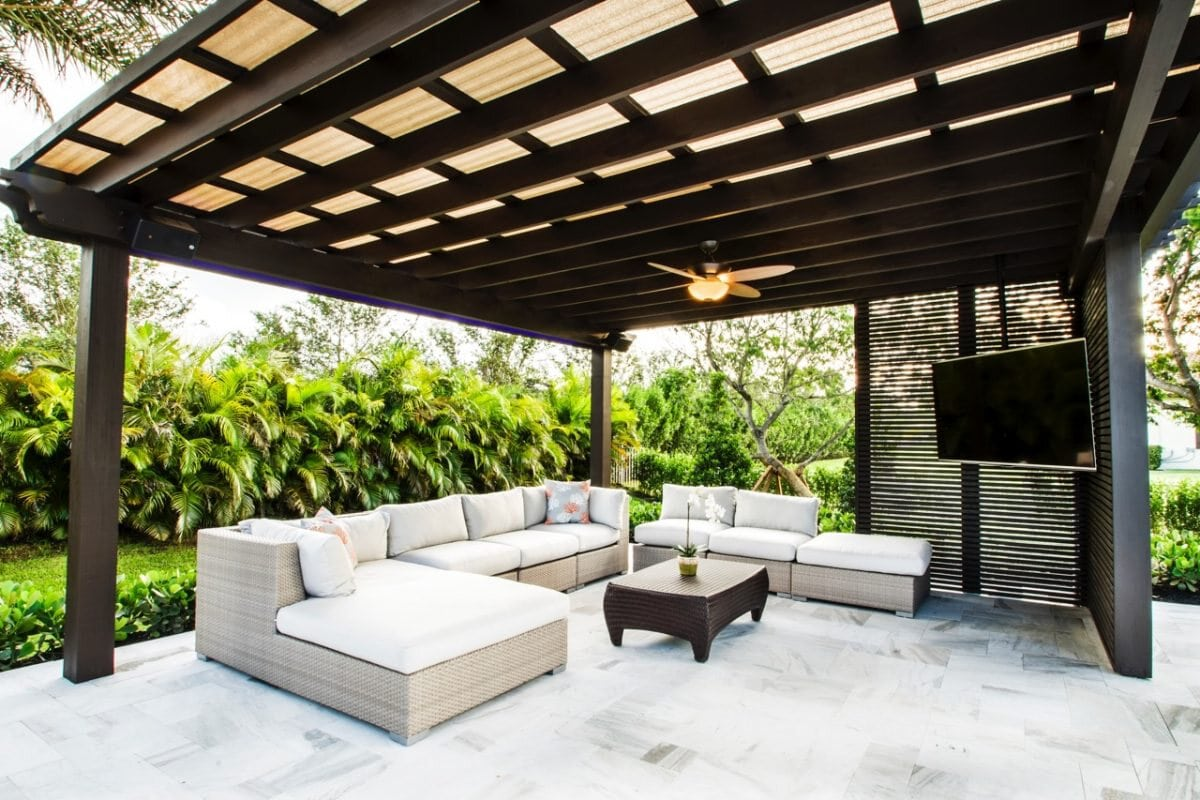 Wood Pergola by The Patio District