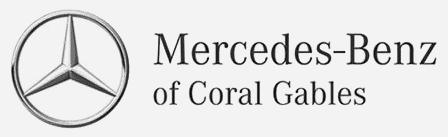 mercedes benz of coral gables logo