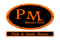 PM Fish and Steakhouse Logo