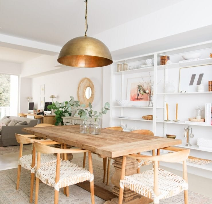 Dining room by Calimia Home
