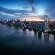 Missoni Baia Miami Residences Skyline