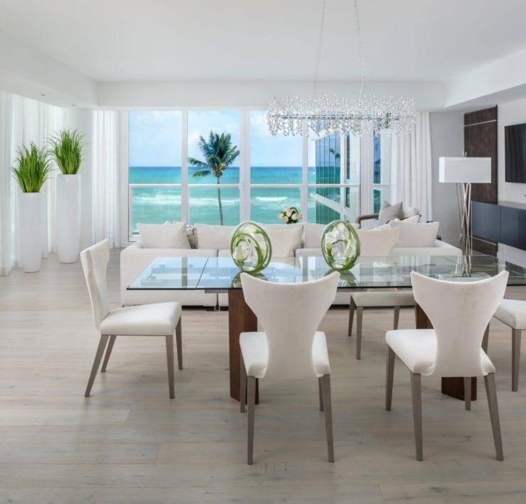 Robert Granoff 3550 S Ocean Blvd 3B Living Room Overall