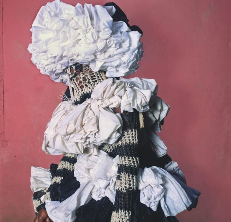 Portrait from photography exhibit by Phyllis Galembo.