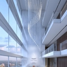 Sky Lobby at Aston Martin Residences