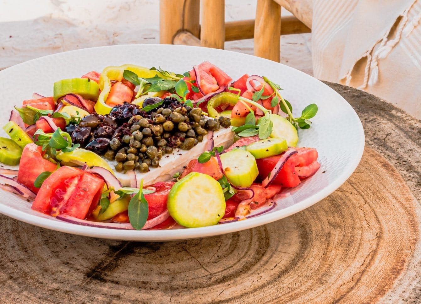 Greek Salad Shore Side Brinson Renda e1583101055540