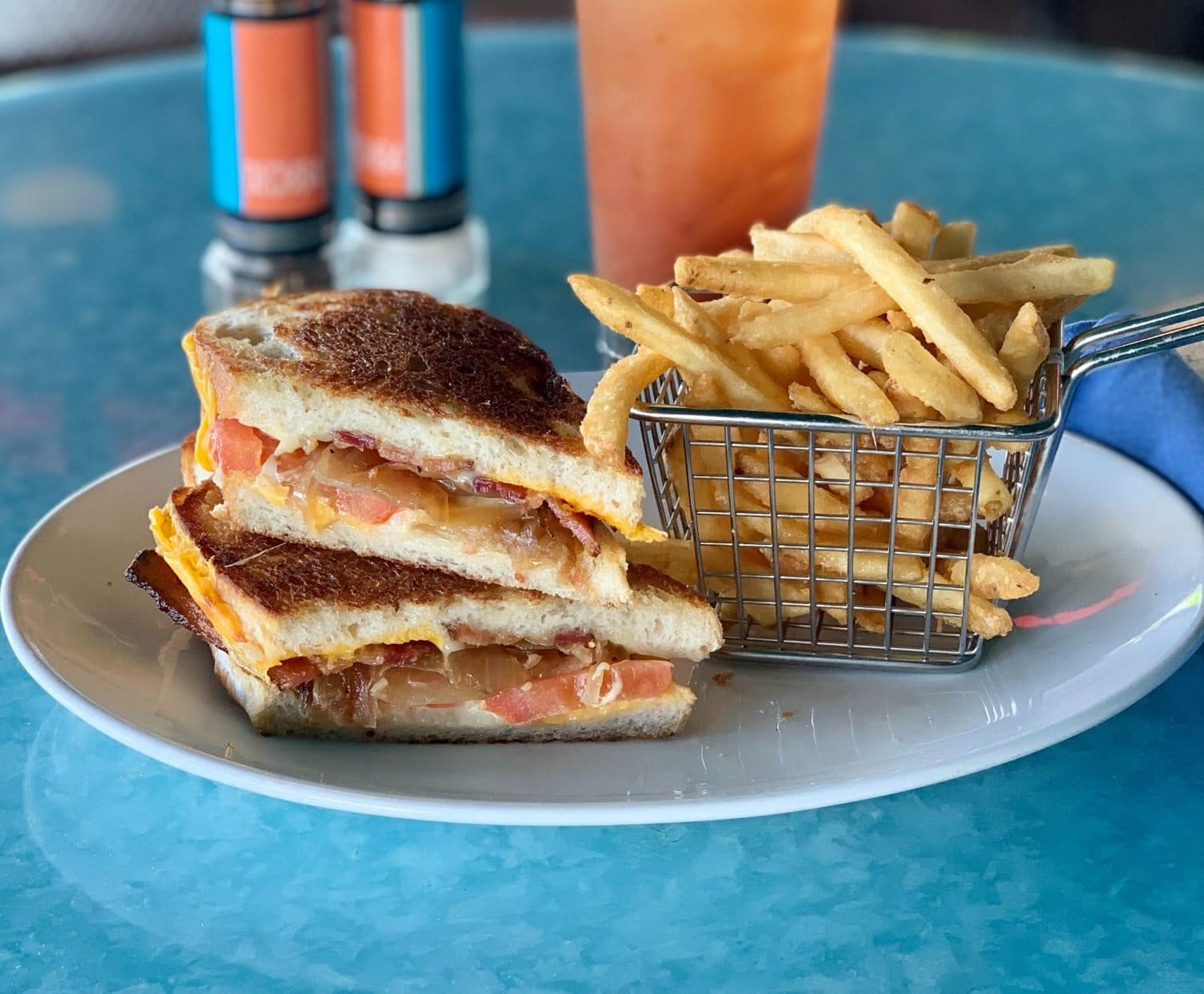 Deck 84's BTO Grilled Cheese