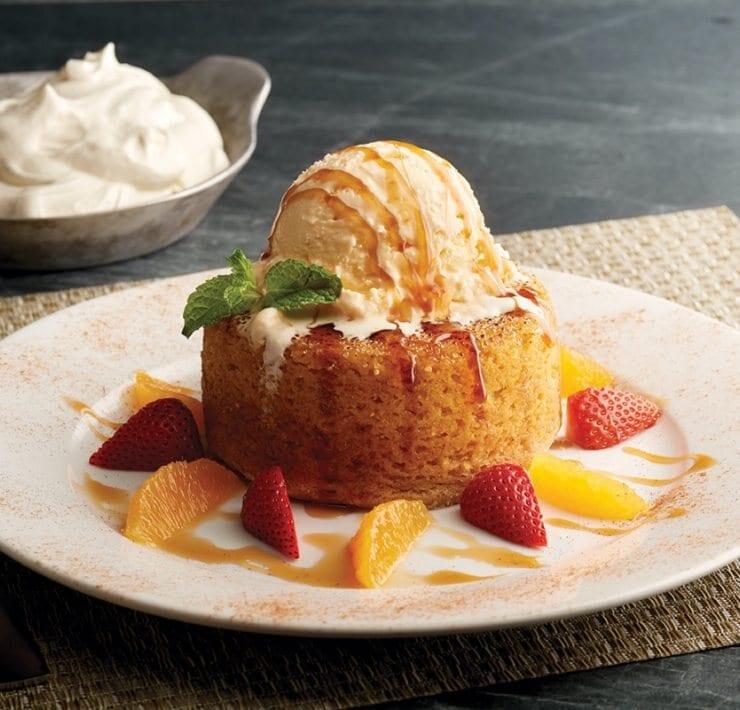 Pumpkin Spice Warm Butter Cake_ photo credit Mastro's Restaurants