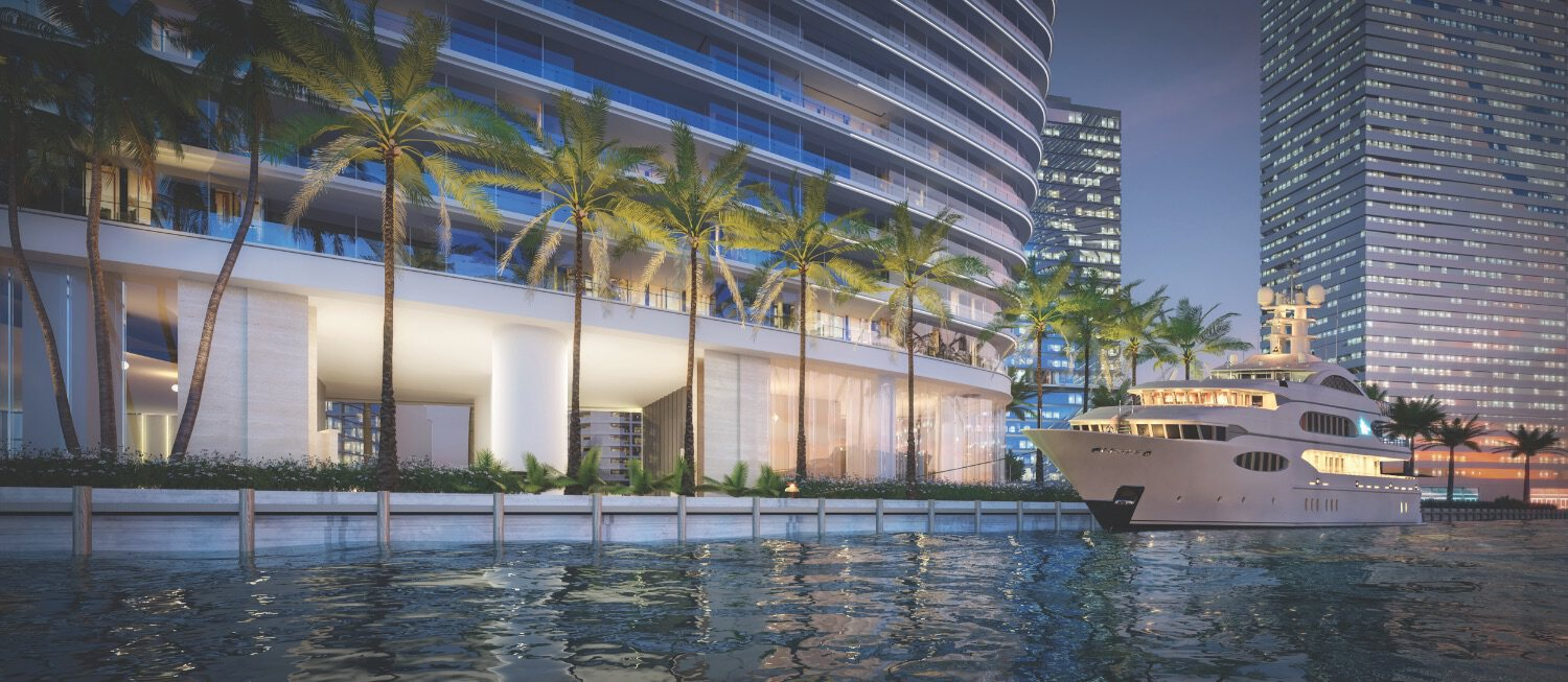 Superyacht Marina at Aston Martin Residences