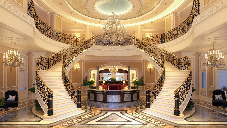 The Palace at Weston lobby