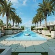 Villa Valencia pool deck