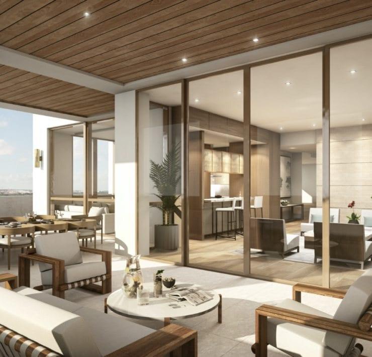 Villa Valencia lower penthouse terrace