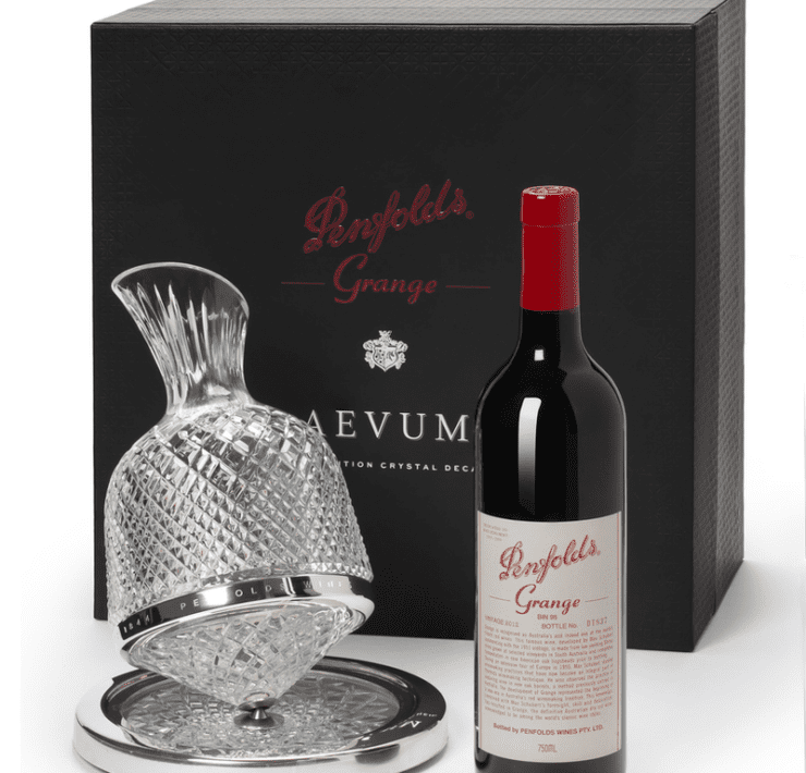 red wine 2012 penfolds grange avevum crystal decan e1589325423891