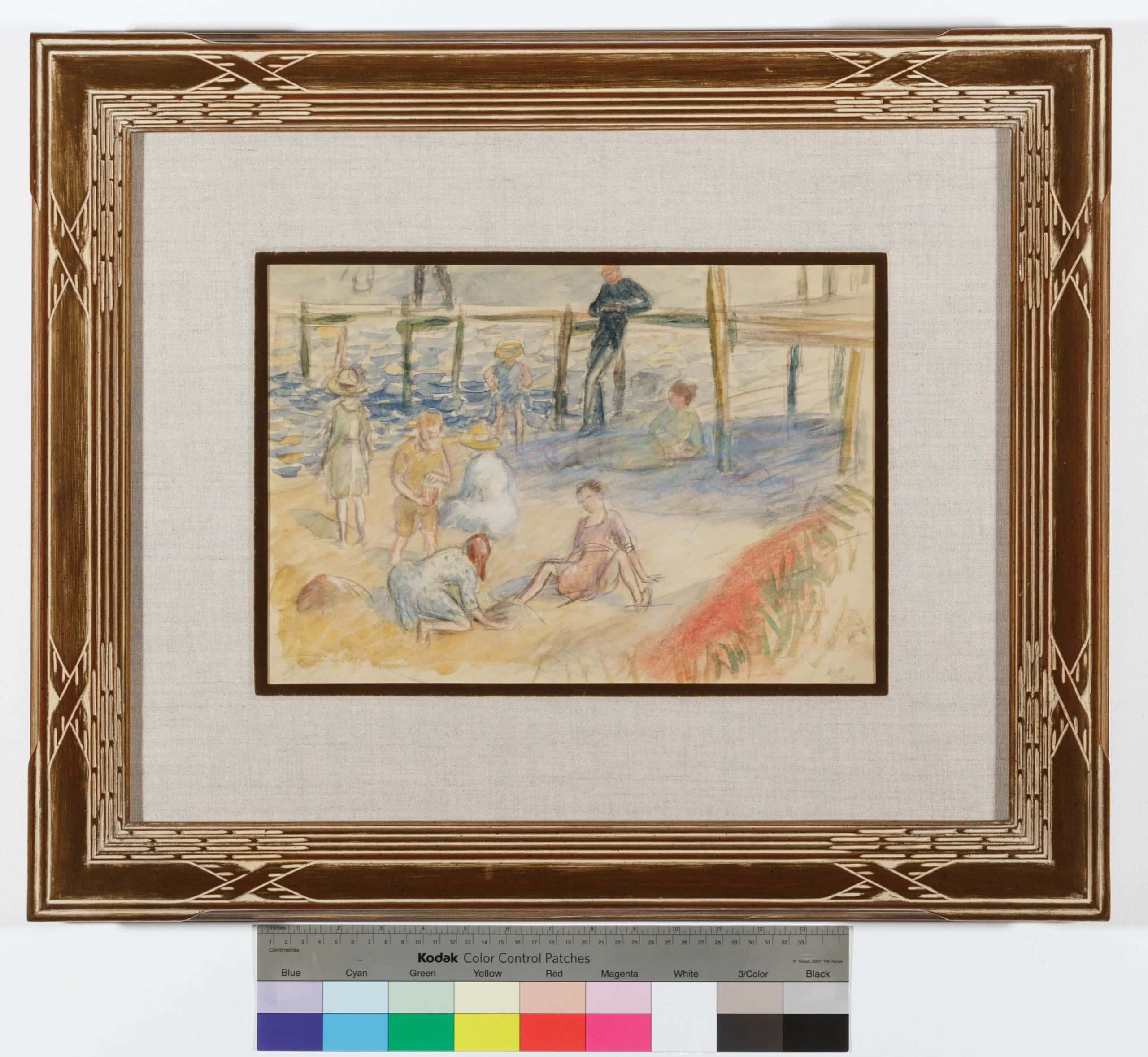 1989.113 Glackens At.the .Beachcolorbar scaled
