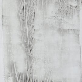 """Untitled, 96"""" x 48"""", acrylic on watercolor paper, 2015"""