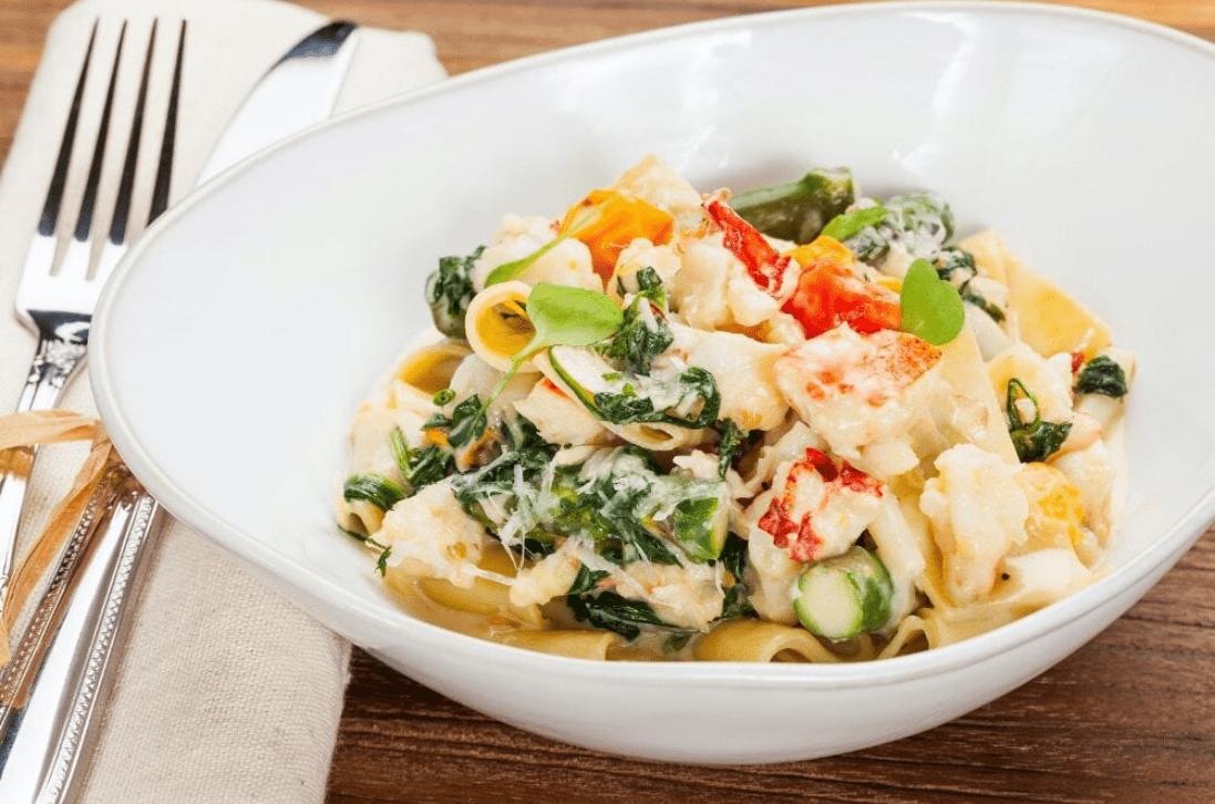 Burlock Coast's Lobster Pasta - Photo by Steven Flint