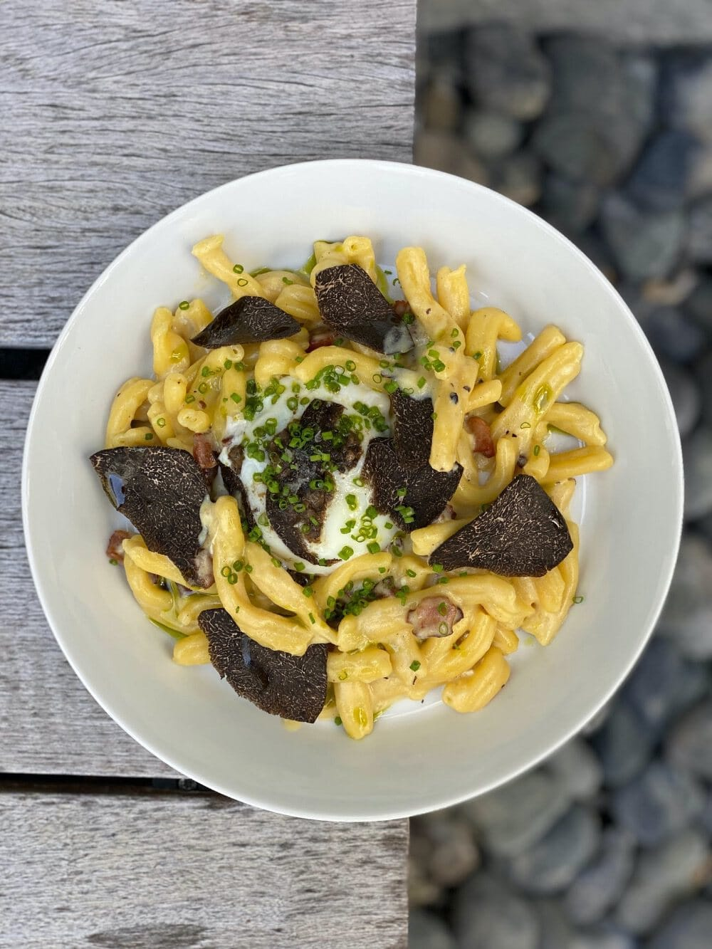 LT Steak & Seafood's Casarecce Carbonara