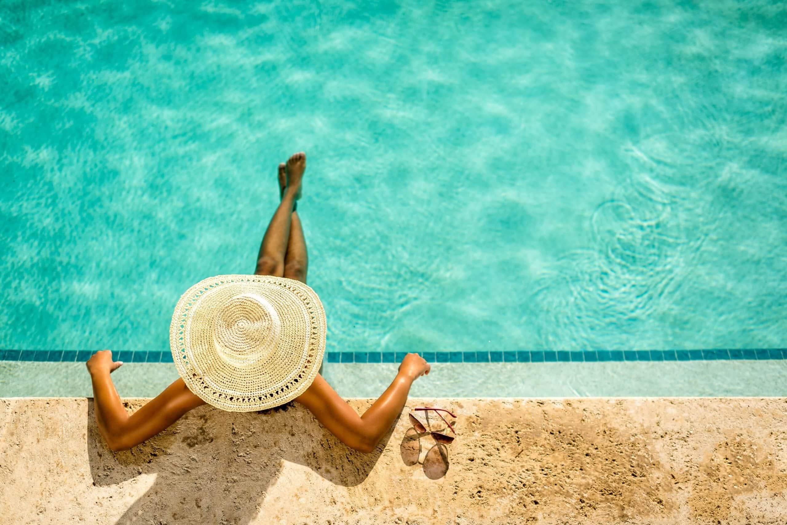 Credit Visit Lauderdale LauderDeals Aerial view pool scaled