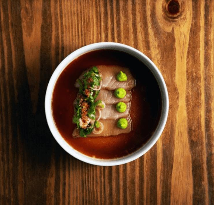 Pubbelly Sushi's Hamachi Poblano