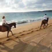 horseback riding at Careyes
