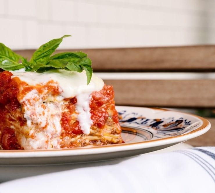 Louie Bossi's Lasagna