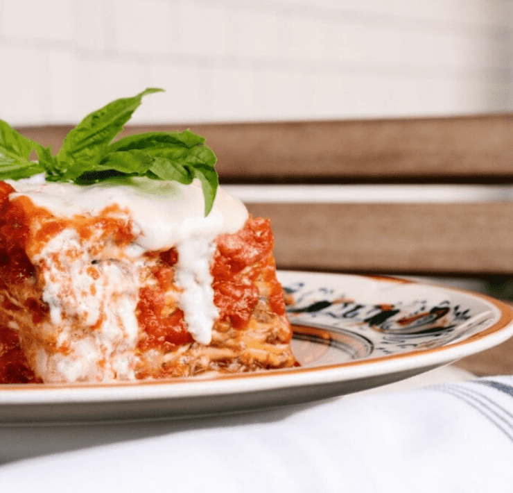 Louie Bossi's 42-Layer Lasagna