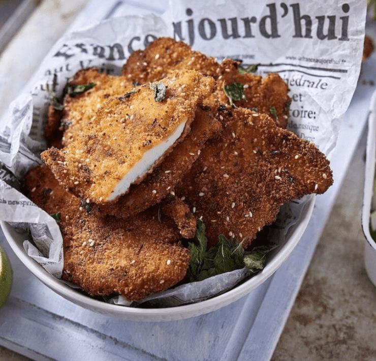 Folklore Culinary's Chicken Schnitzel