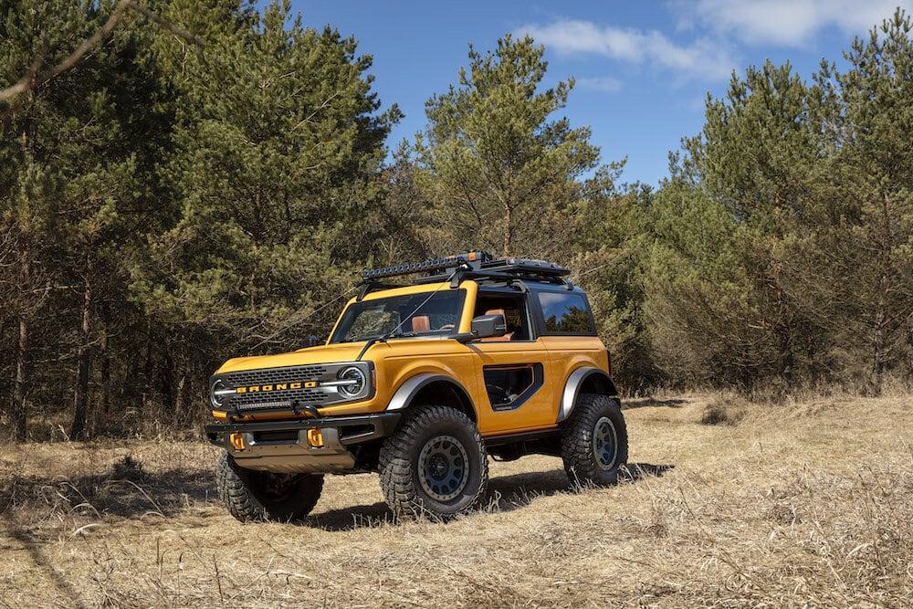 2021 Ford Bronco Sasquatch