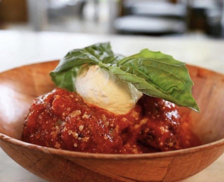Frankie's Meatballs from Pizzeria Sophia
