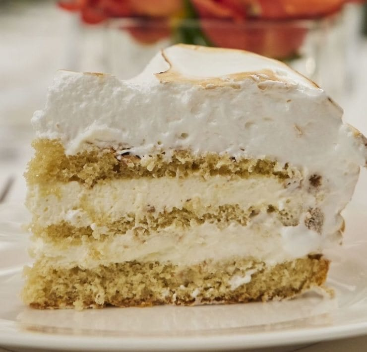 Swifty's Vanilla Meringue Cake