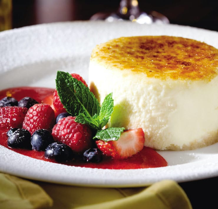 The Capital Grill Cheesecake