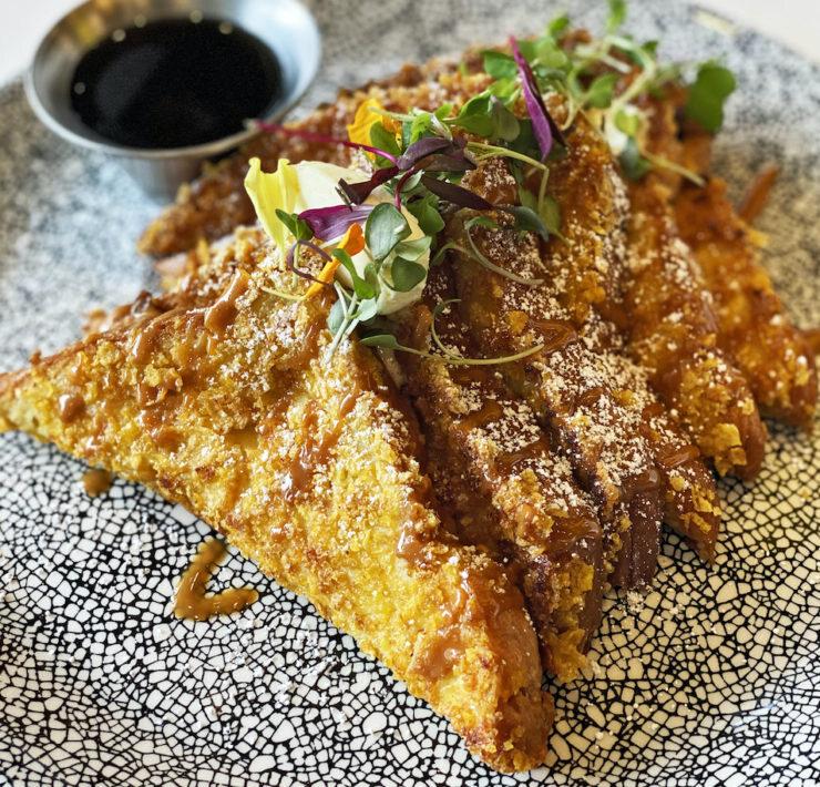 Harborwood Urban Kitchen's Cornflake-Crusted French Toast
