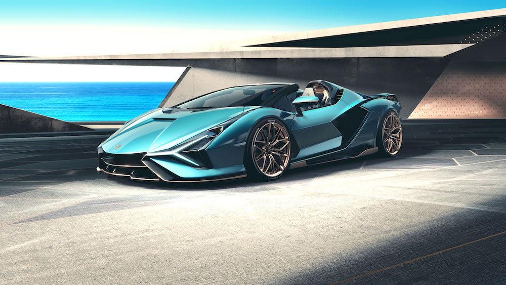 2021 Lamborghini Sián Roadster Courtesy Lean Design Gmbh
