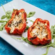 Meraki's Greek Stuffed Peppers - Courtesy Stillwater & Co