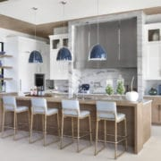 Kitchen design by Marc Michaels Interior Design