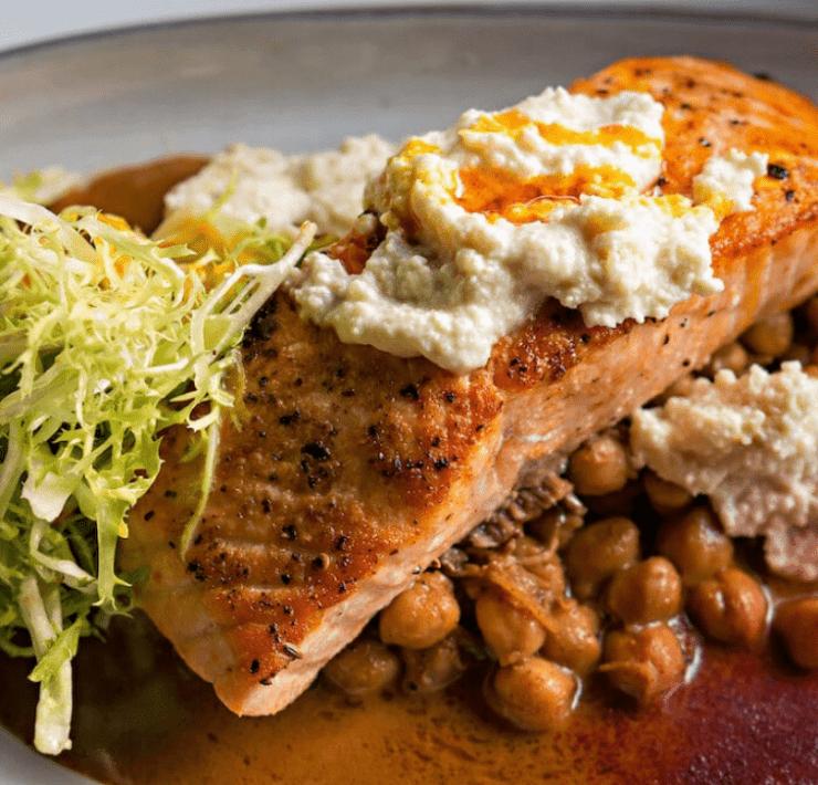 Barbarella's Seared Salmon - Courtesy Miami Food Pug