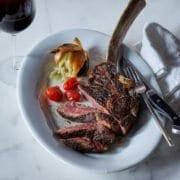 8-Il Mulino's Tomahawk Steak Tagliata