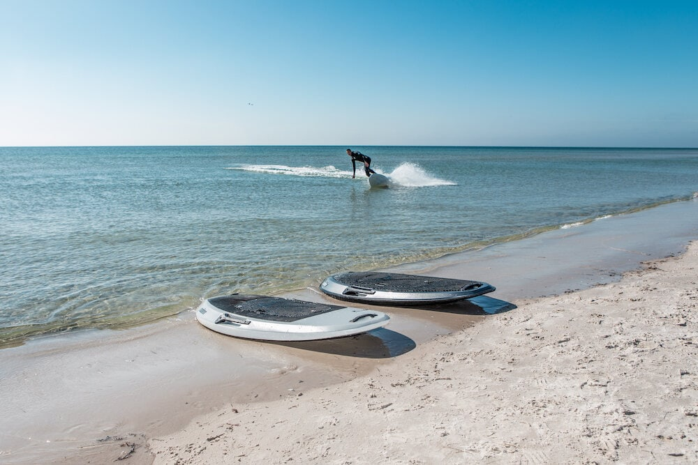 Radinn family of jetboards - Photo by Kicki Persson