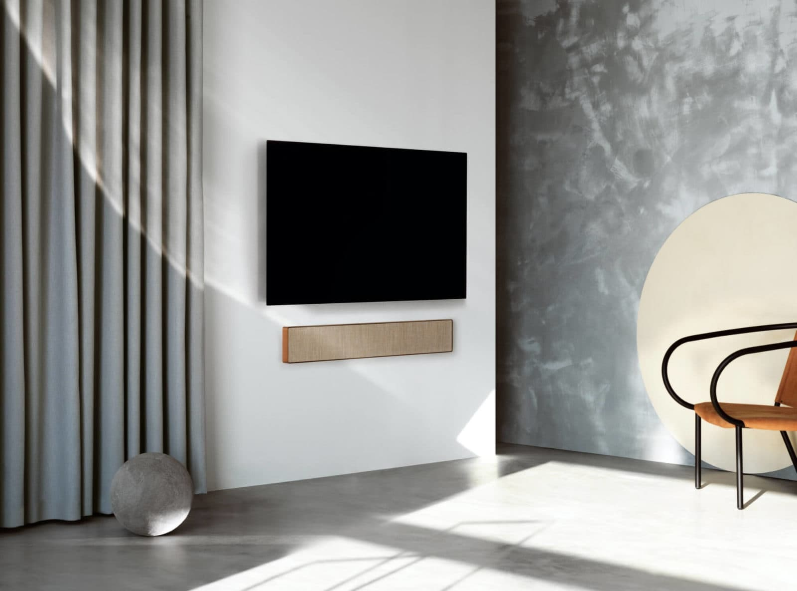 Beosound stage Dolby Atmos soundbar Starting at $1,750
