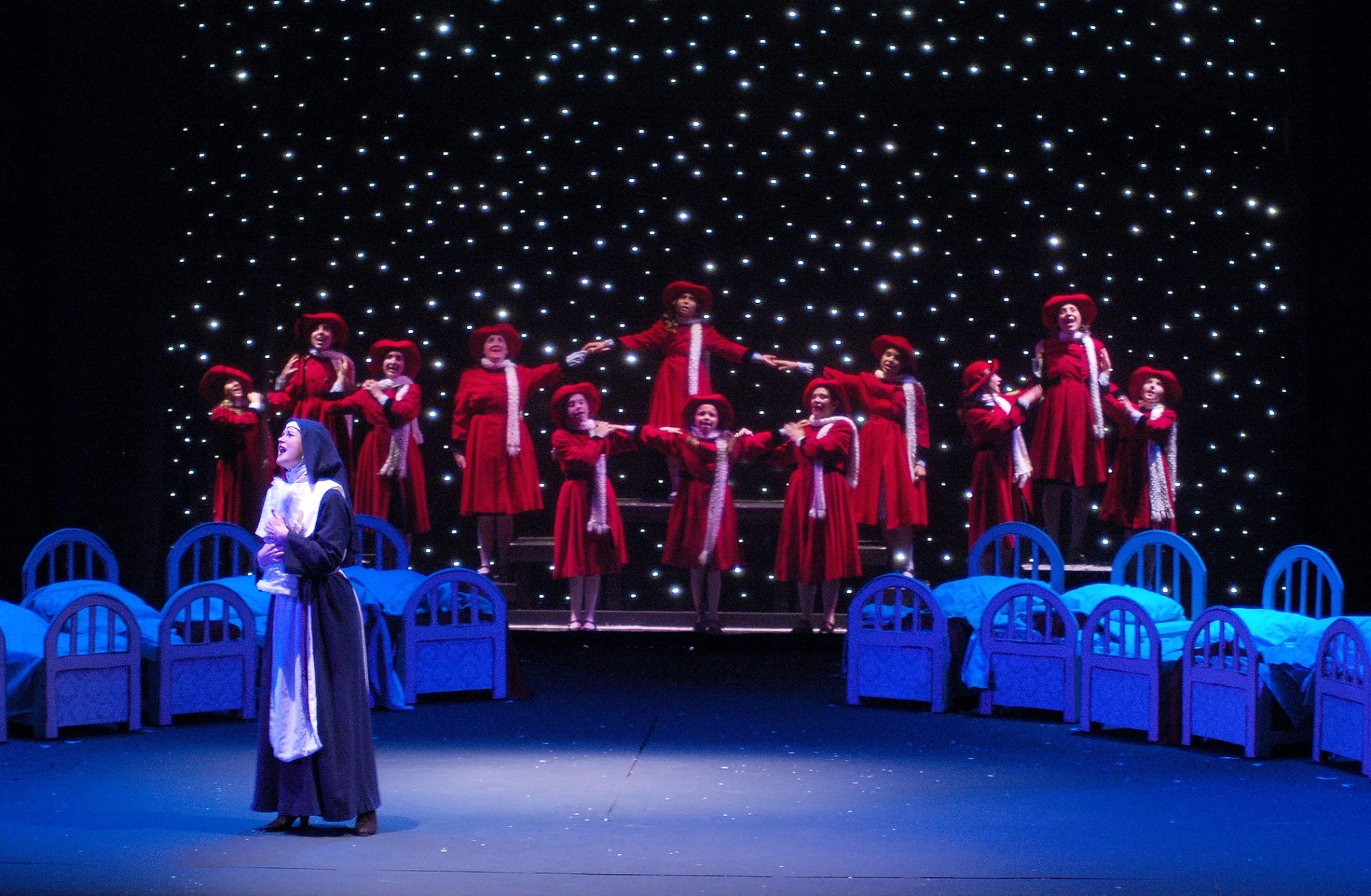 Actors' Playhouse's Musical Theatre for Young Audiences production of Madeline's Christmas - Photo by Alberto Romeu