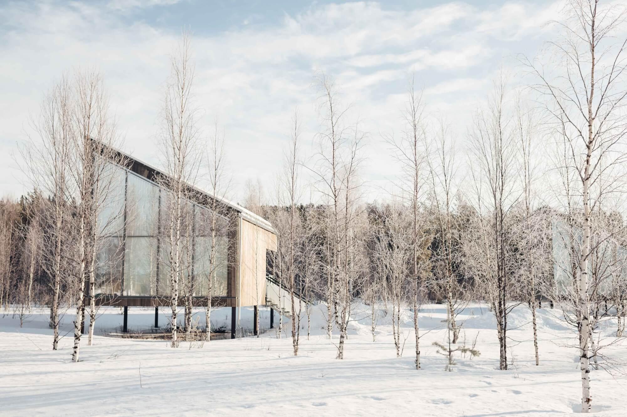 Suite Cabin at Arctic Bath, Sweden